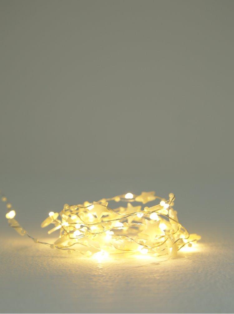 Instalatie luminoasa LED cu elemente decorative stelute - Kaemingk x