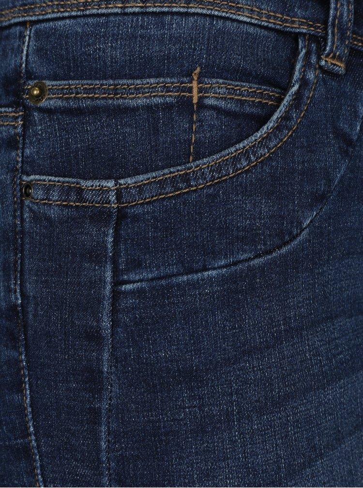 Blugi slim fit albastri cu talie medie pentru femei - s.Oliver