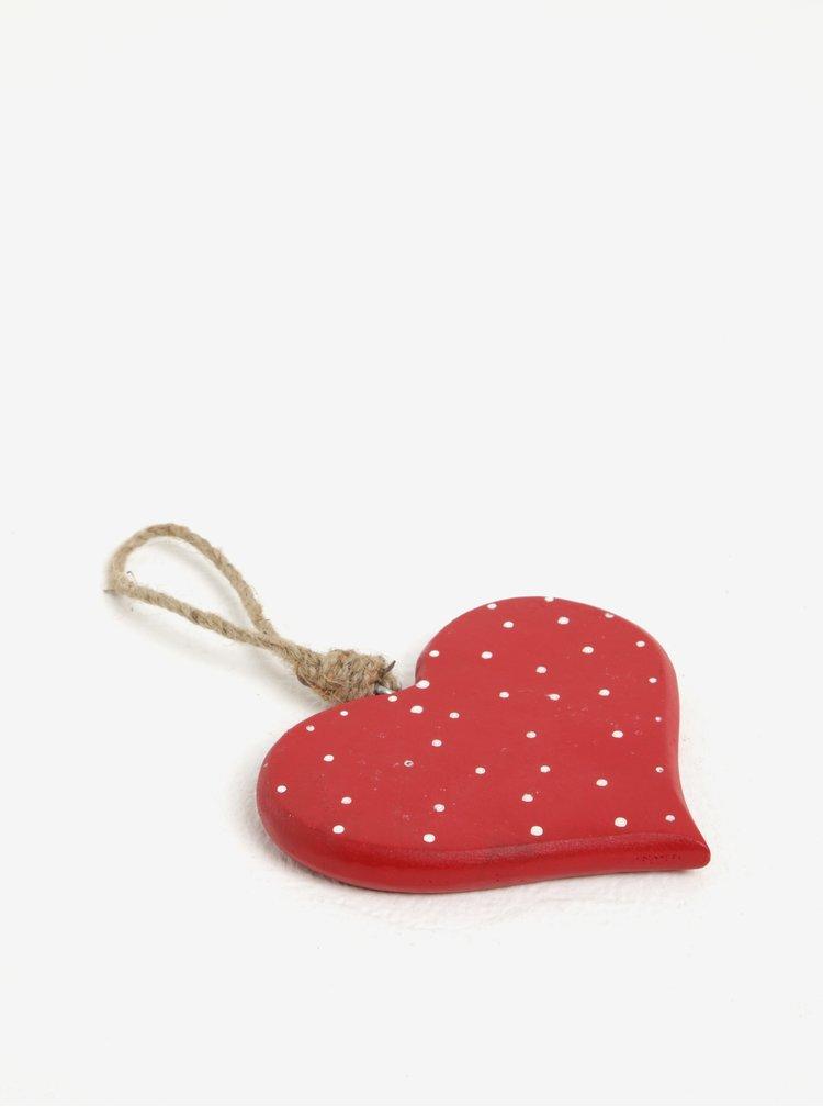 Decoratiune inima din lemn cu agatatoare - Sass & Belle Fairy