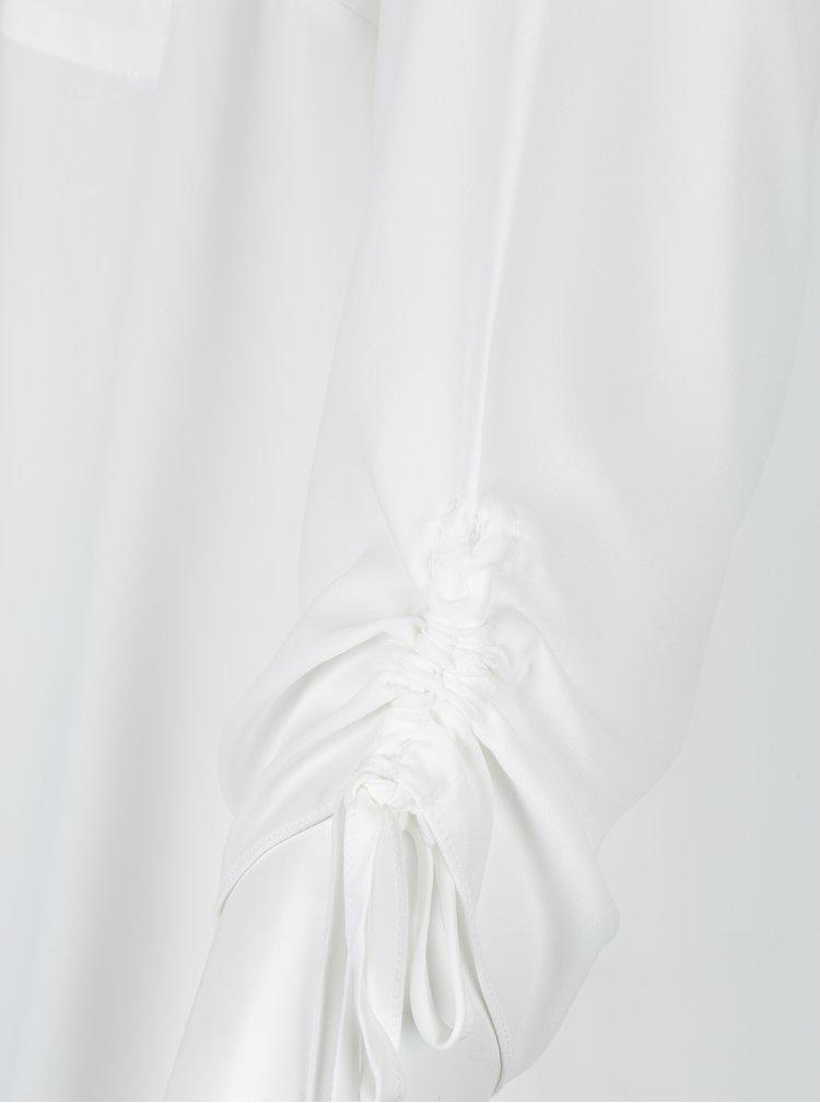 Bílá volná halenka Dorothy Perkins Curve