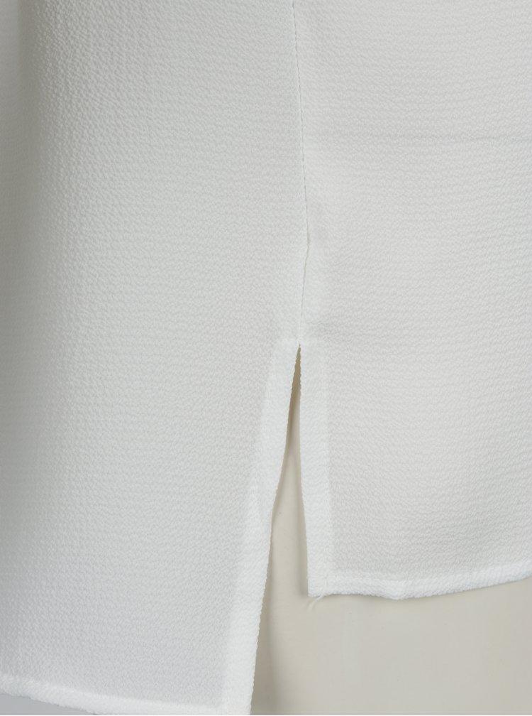 Krémová dámská halenka s 3/4 rukávem VERO MODA