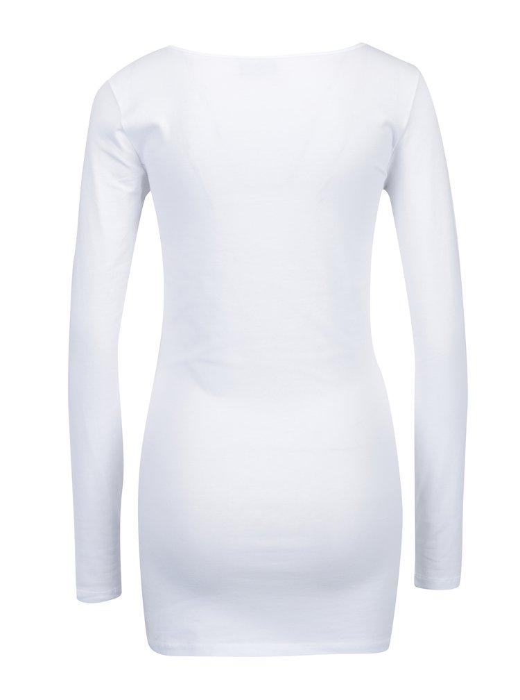 Sada dvou dlouhých triček v černé a bílé barvě VERO MODA