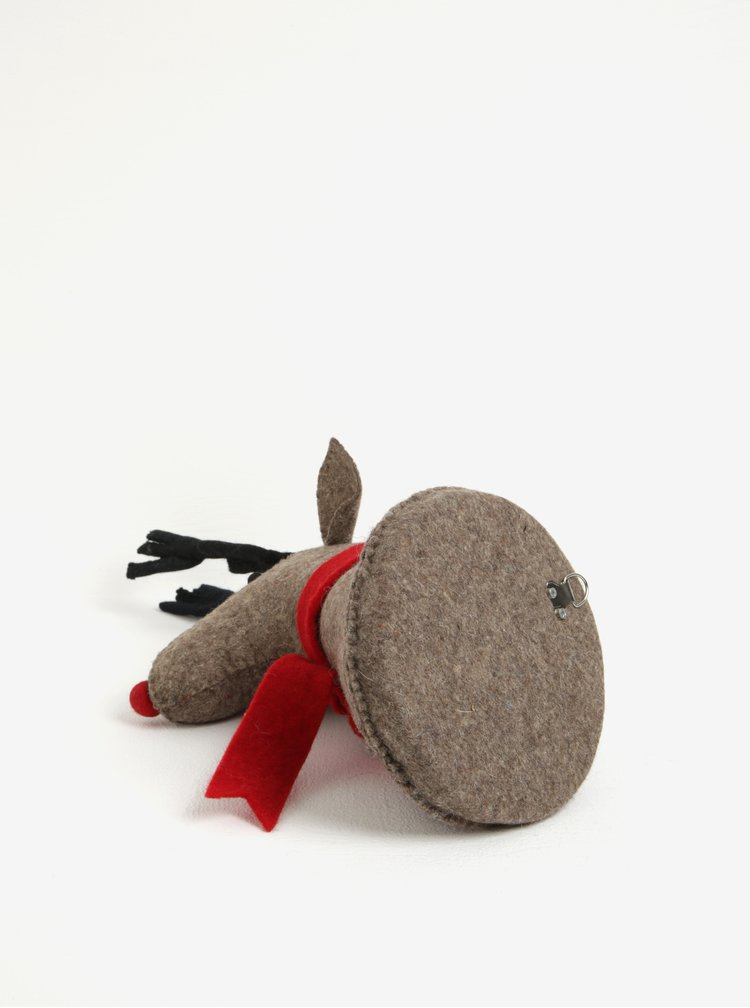 Decoratiune cap de ren pentru perete -  Sass & Belle Rudi