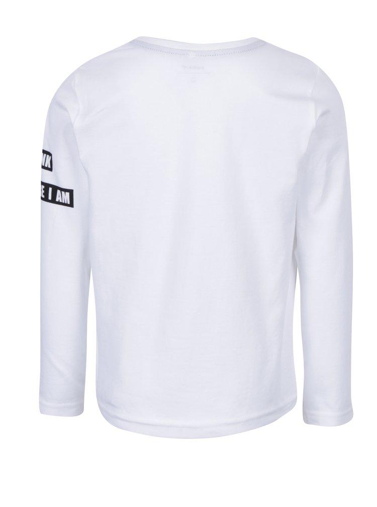 Bílé klučičí tričko s potiskem name it Simpsons