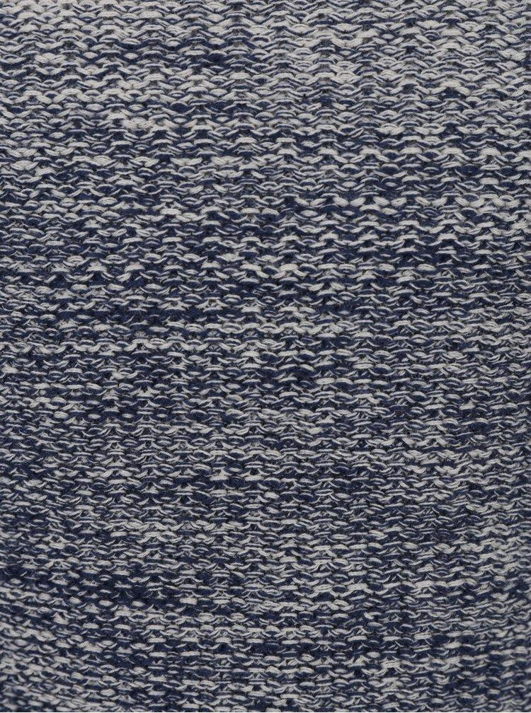 Šedý modrý klučičí žíhaný svetr name it Hep