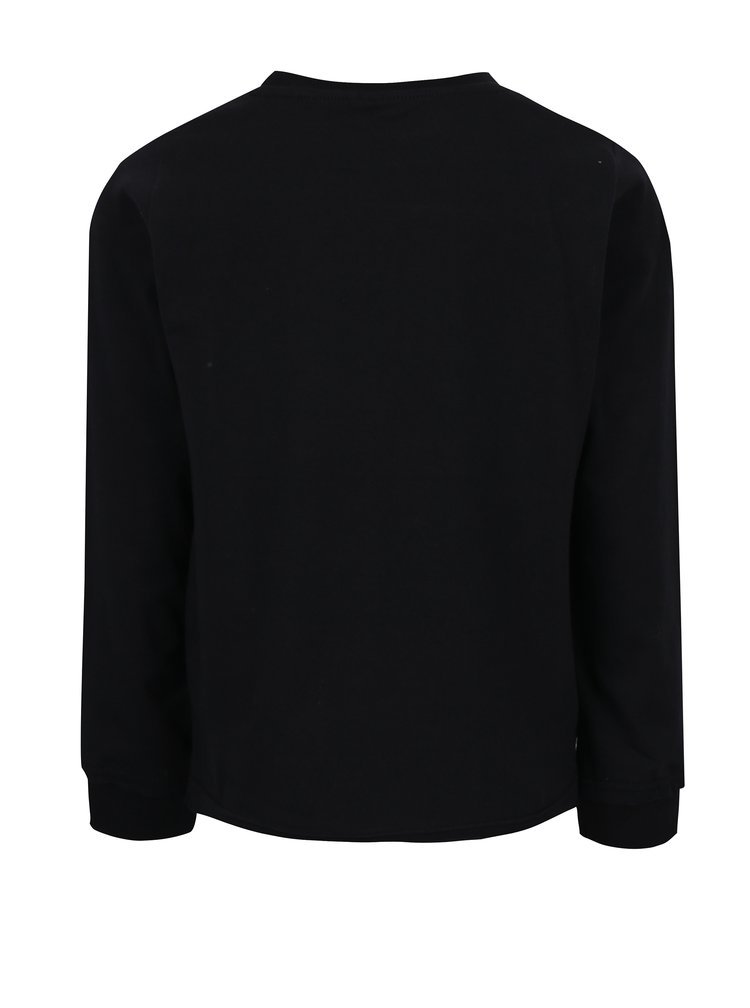 Černé holčičí tričko s flitry name it Sivat