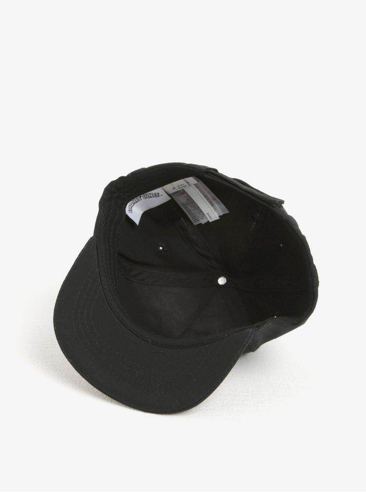 Černá klučičí kšiltovka s výšivkou name it Looney