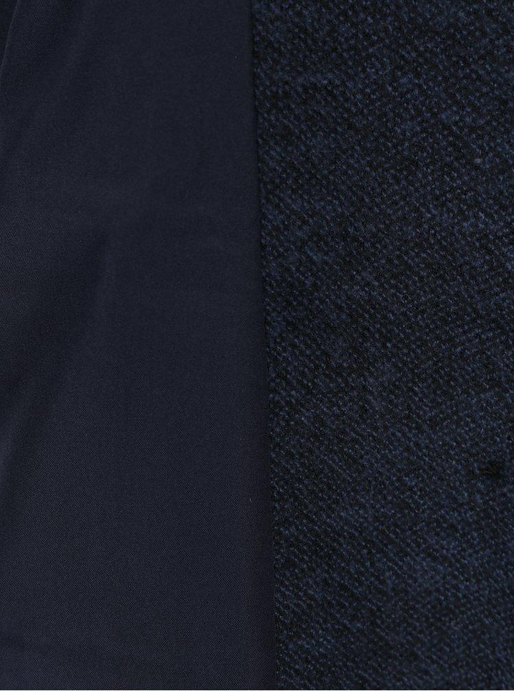 Tmavě modré žíhané sako ONLY Ariella