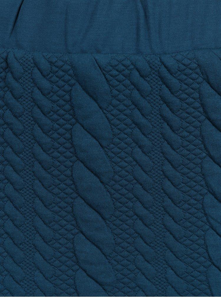 Fusta conica bleumarin cu torsade - Jacqueline de Yong Zadie