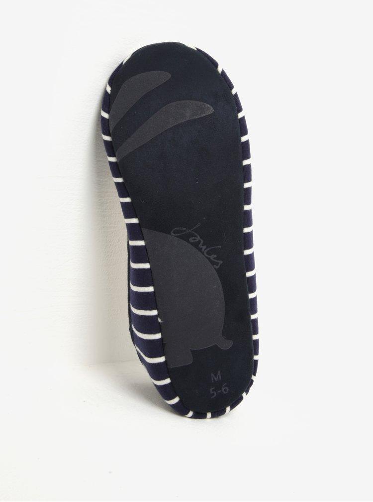 Tmavě modré pruhované papuče Tom Joule Dreama