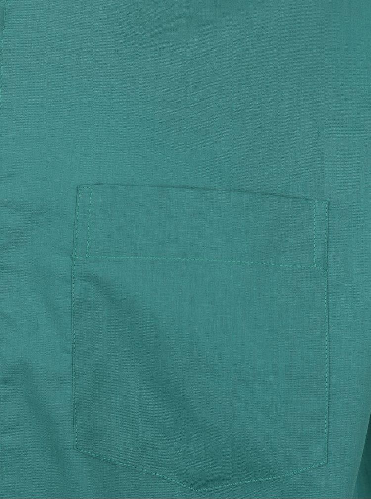 Zelená formální slim fit košile Braiconf Baltazar