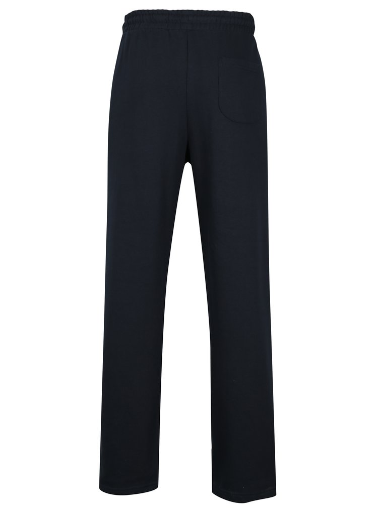 Pantaloni sport bleumarin cu talie elastica si logo brodat -  JP 1880