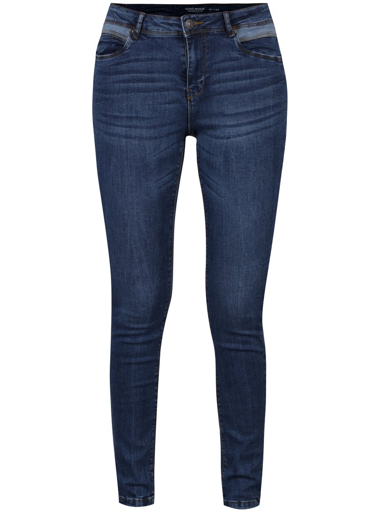 Blugi bleumarin slim fit VERO MODA Even