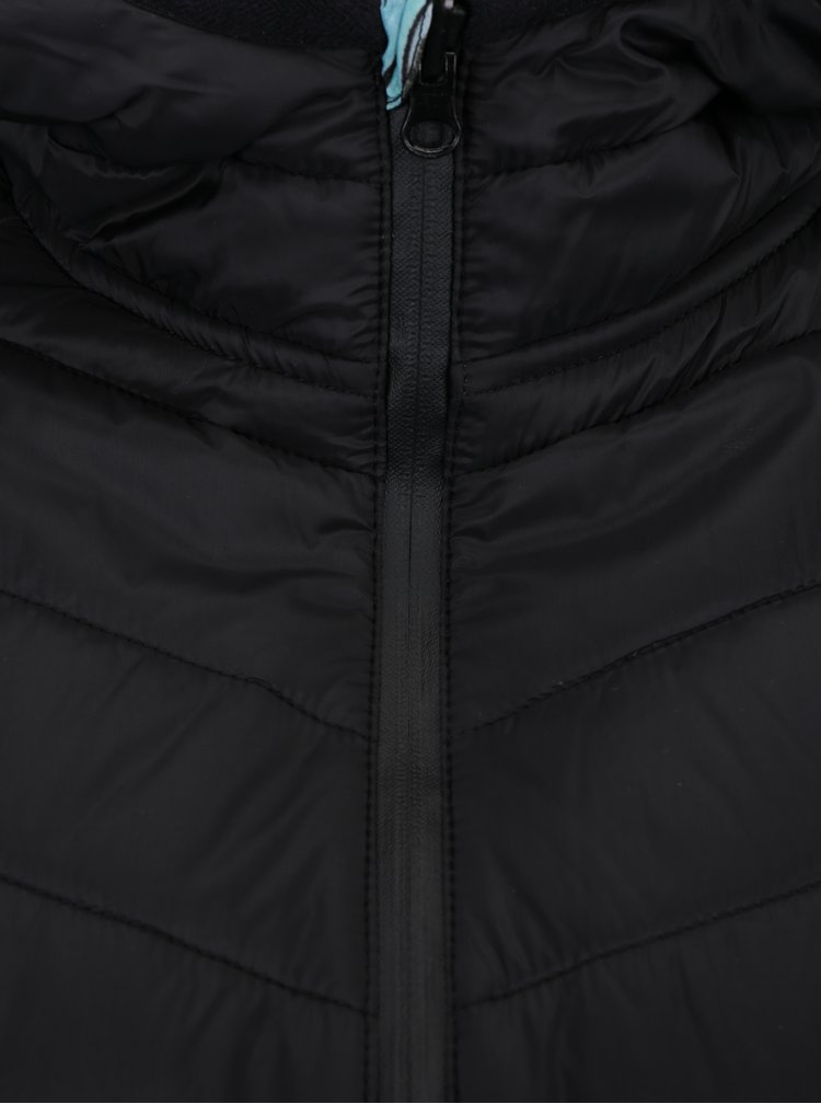Černá oboustranná sportovní lehká prošívaná bunda Desigual Sport