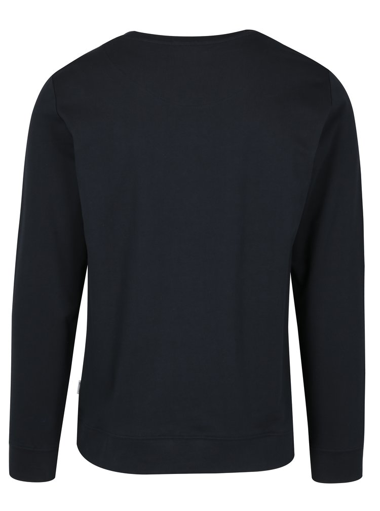 Bluza sport bleumarin cu broderie - ONLY & SONS Cable