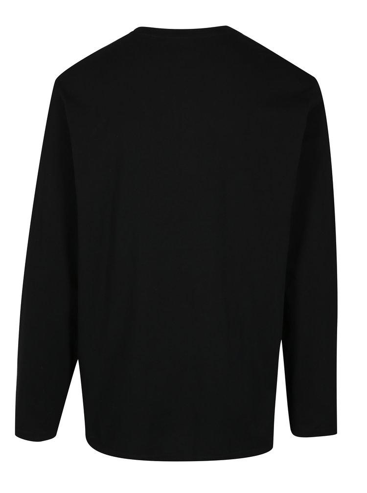 Černé tričko s dlouhým rukávem JP 1880