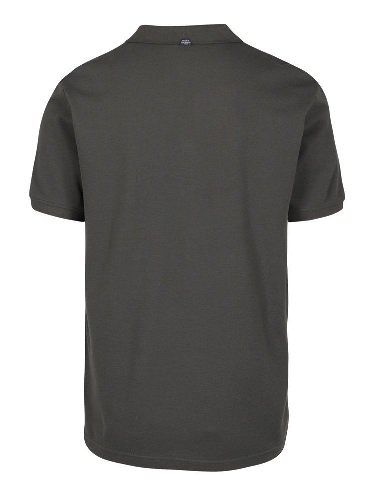 Šedé pánské polo tričko s.Oliver