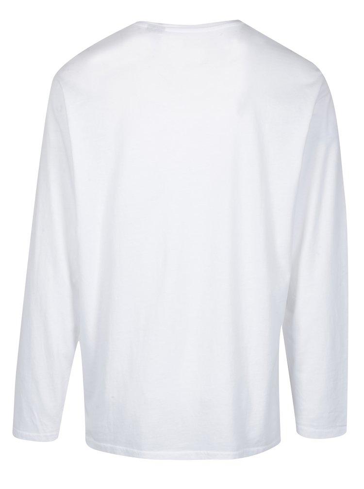 Bluza alba din bumbac cu nasturi - JP 1880