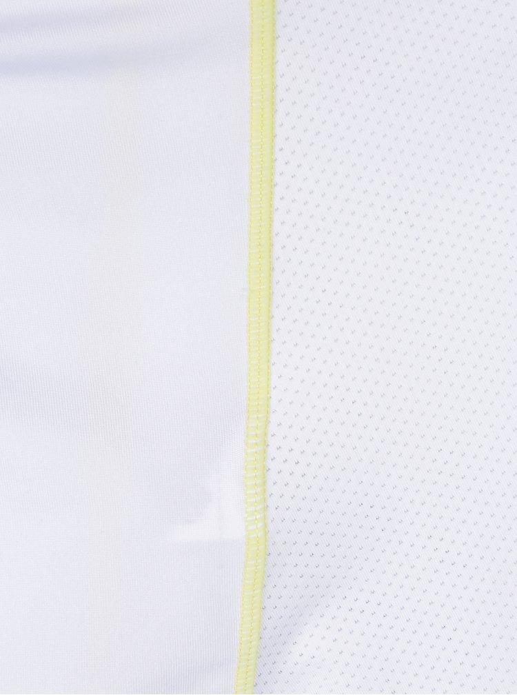Bílé sportovní tílko s detaily s potiskem Desigual Sport