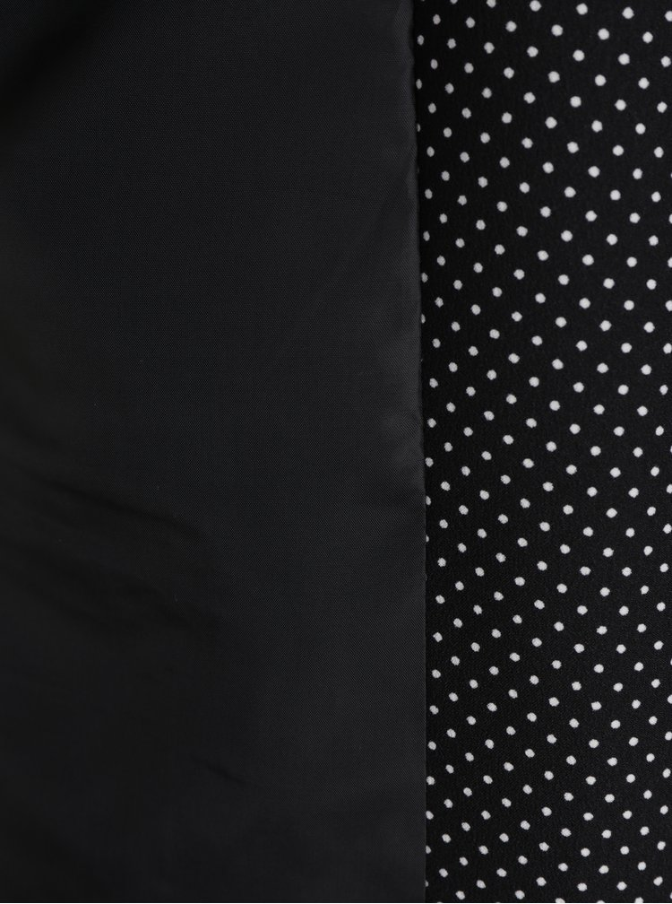 Černé vzorované sako VERO MODA Helen