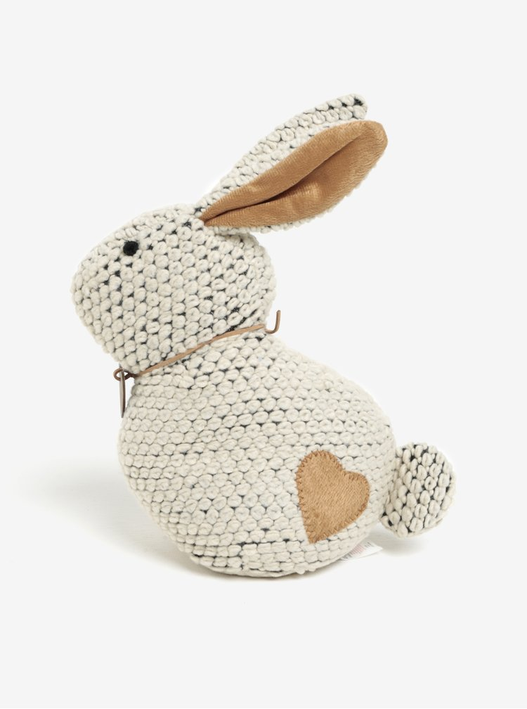Stoper de usa tricotat crem in forma de iepure SIFCON
