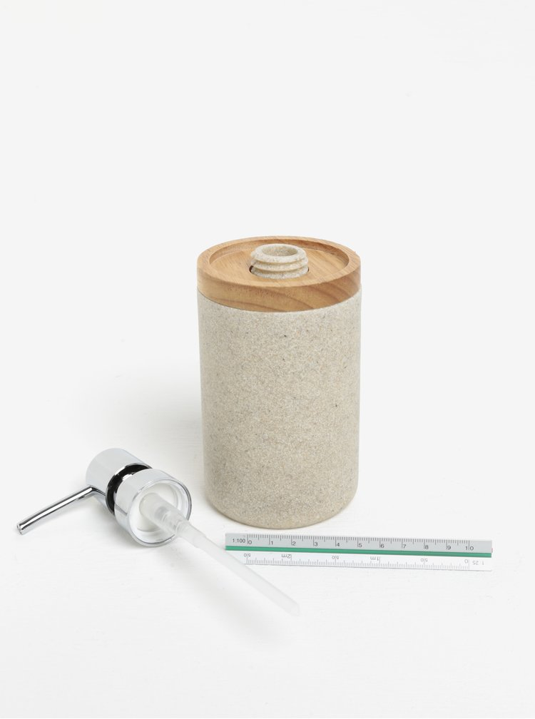 Recipient pentru sapun lichid bej SIFCON