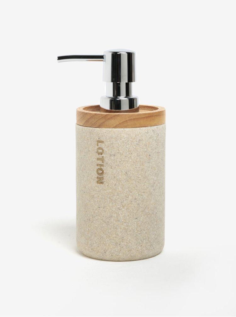 Béžový dávkovač na tekuté mýdlo SIFCON