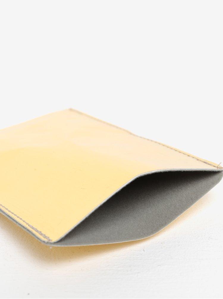Pouzdro na mobilní telefon ve zlaté barvě I Like Paper Gold