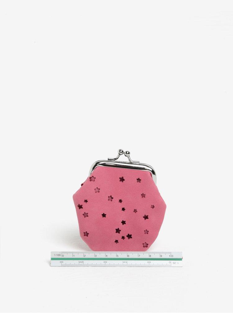 Růžová holčičí vzorovaná peněženka Cath Kidston