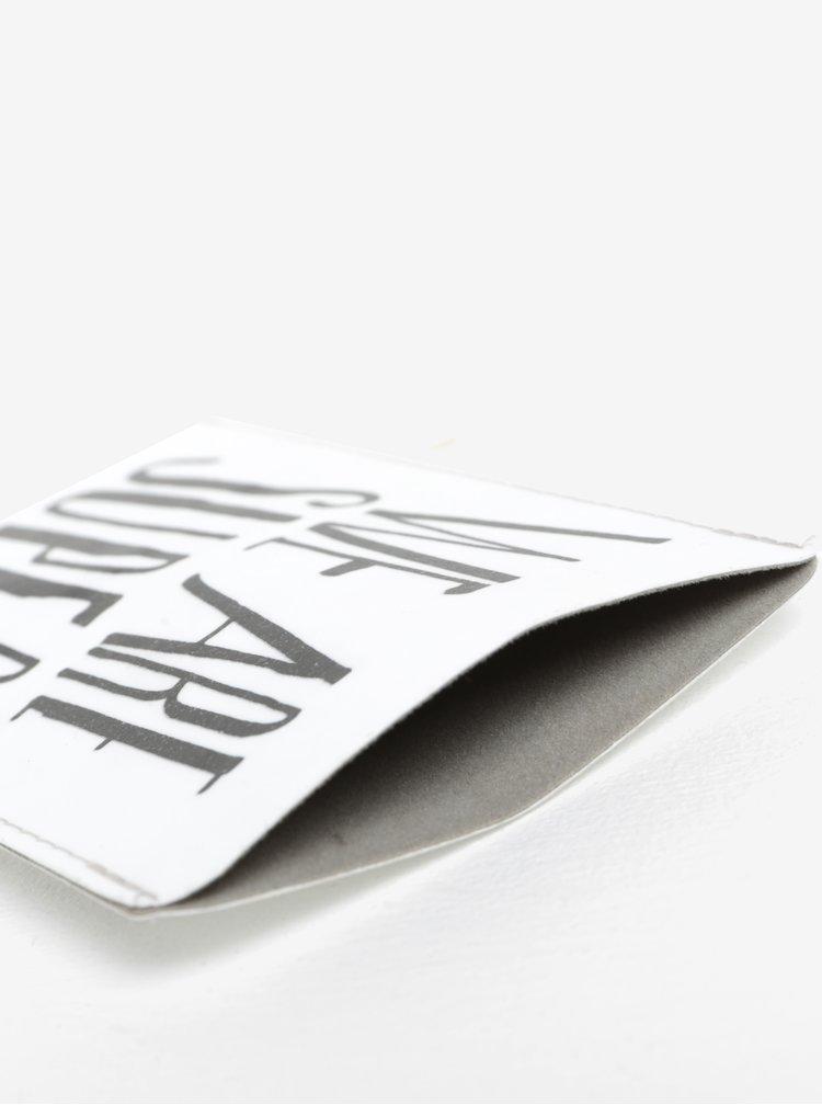 Bílé pouzdro na mobilní telefon I Like Paper We are super