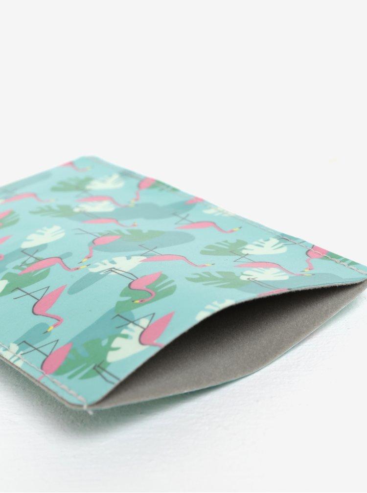 Zelené pouzdro na mobilní telefon I Like Paper Tropical Heat
