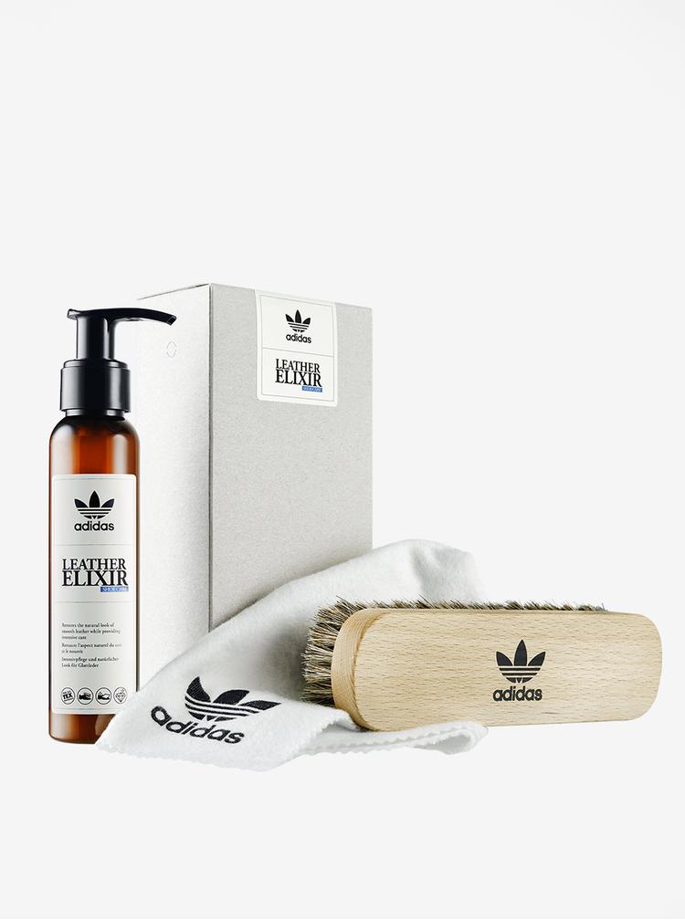 Set pro péči o obuv z hladké kůže adidas Originals Leather Elixir