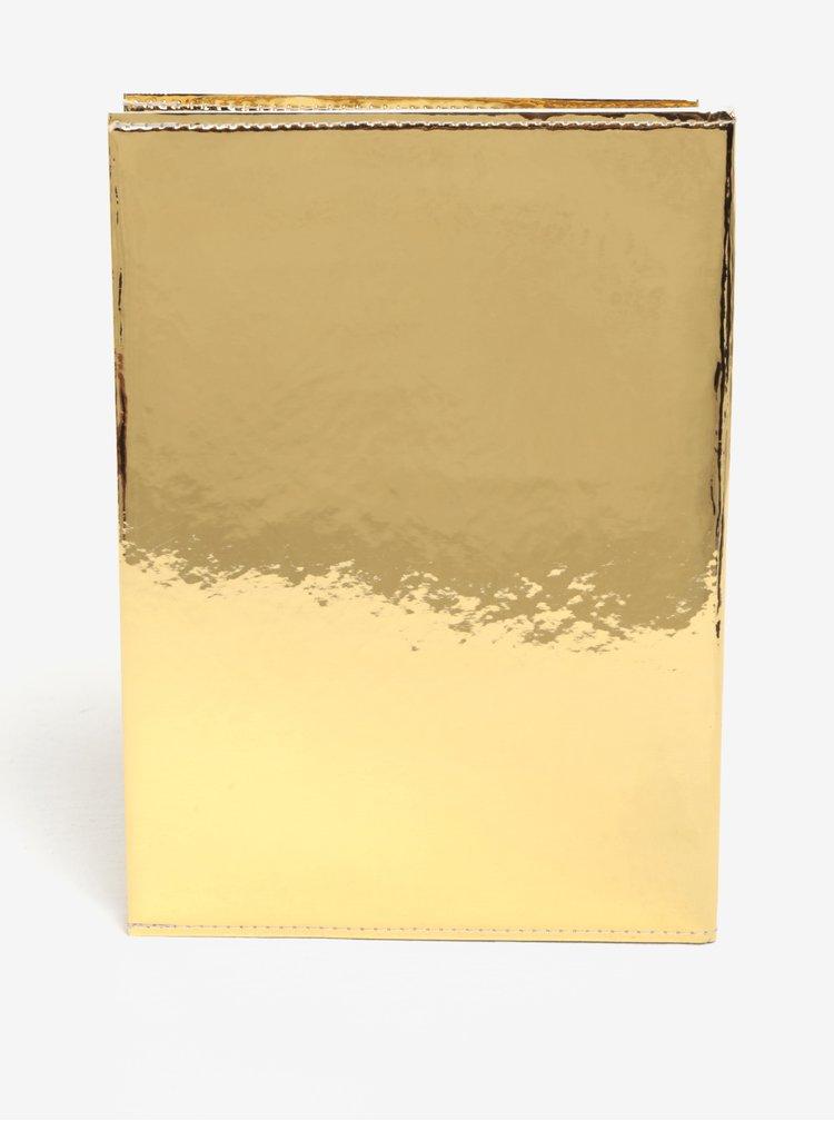 Carnet auriu I like paper A5