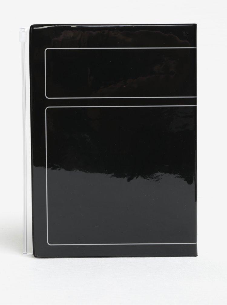 Černý diář pro rok 2018 Mark's Storage.It A5