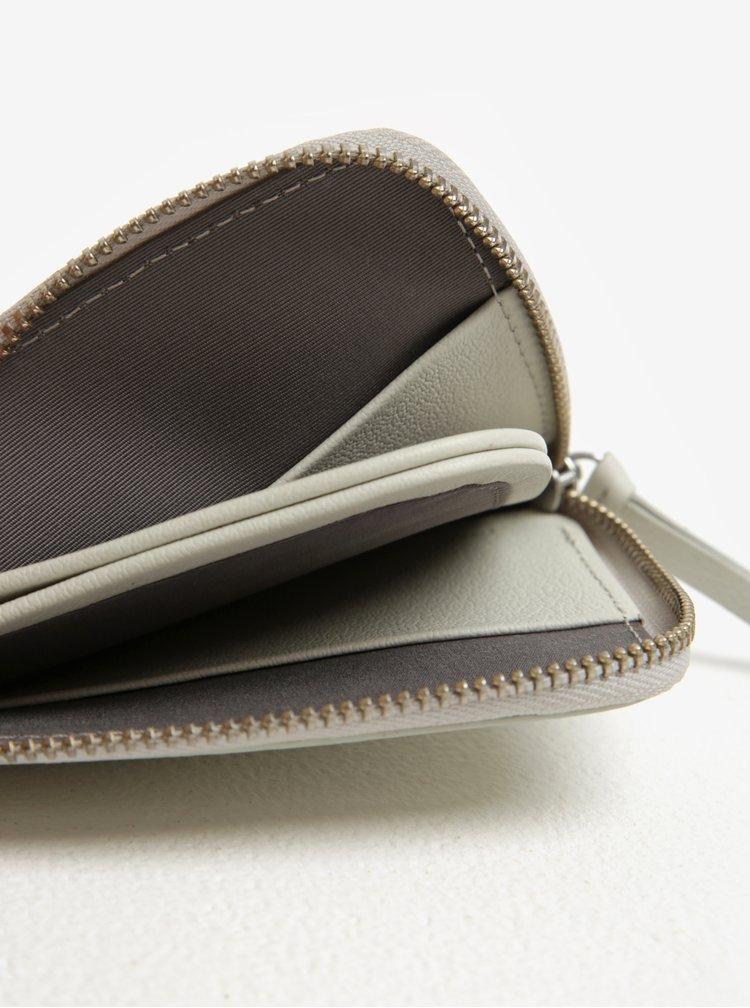 Krémová dámská kožená peněženka Bellroy Pocket mini