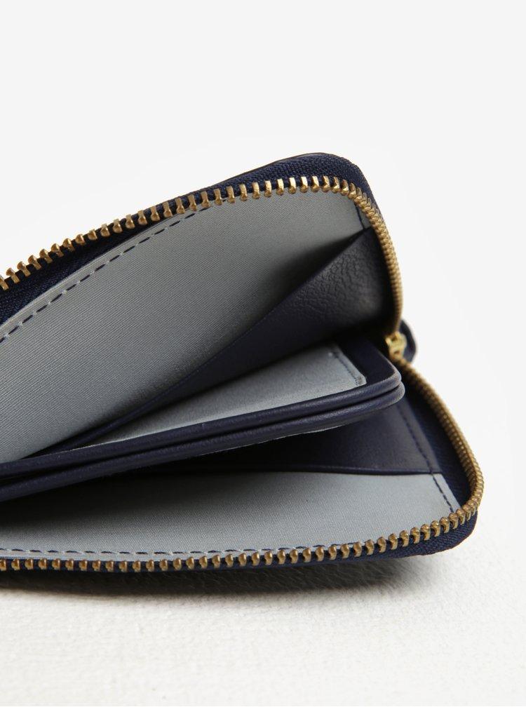 Tmavě modrá dámská kožená peněženka Bellroy Pocket mini