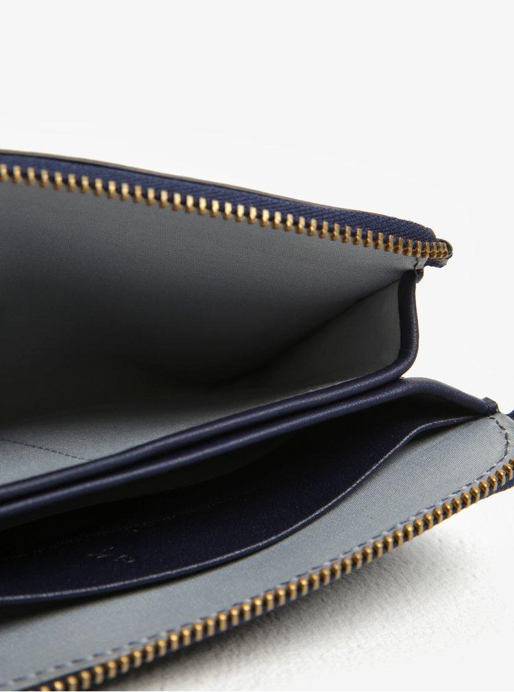 Tmavě modrá dámská kožená peněženka Bellroy Pocket