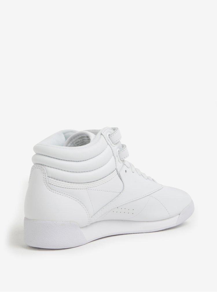 Ghete sport albe din piele naturala pentru femei - Reebok