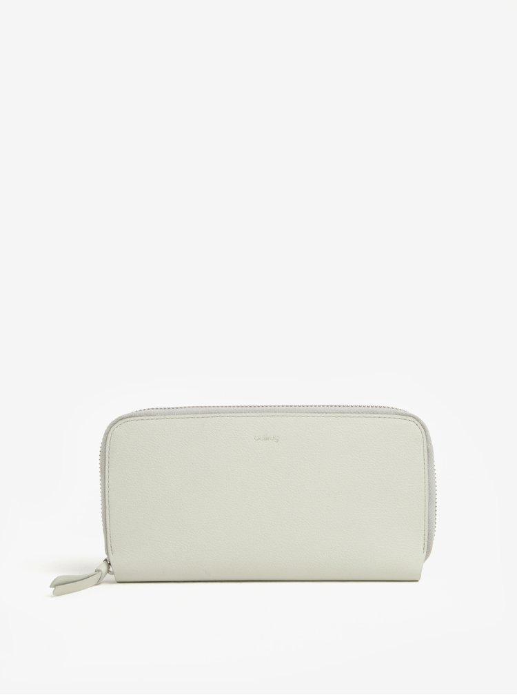 Krémová dámská velká kožená peněženka Bellroy Folio