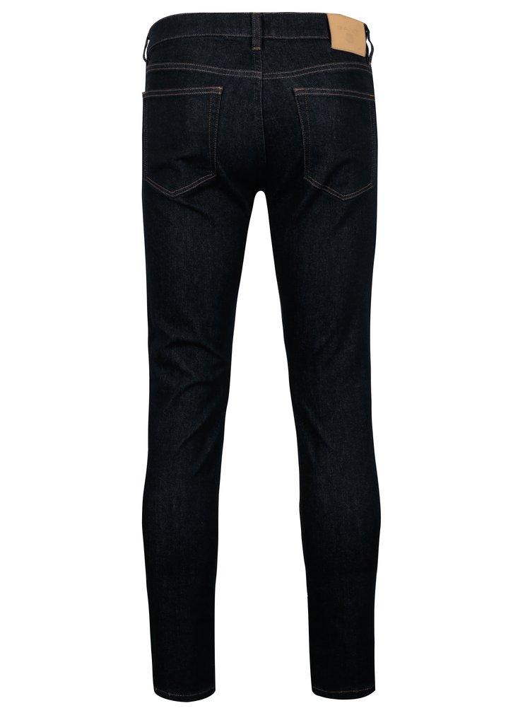 Tmavě modré pánské slim fit džíny GANT