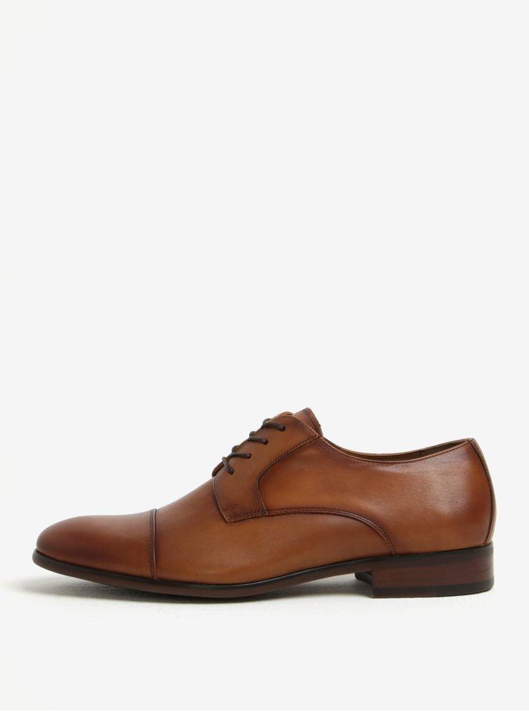 Pantofi maro din piele naturala pentru barbati - ALDO Galerrang-R