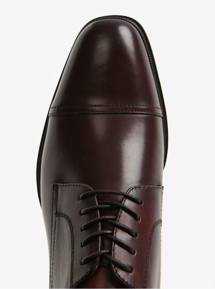 Pantofi rosu bordo din piele naturala pentru barbati - ALDO Berault