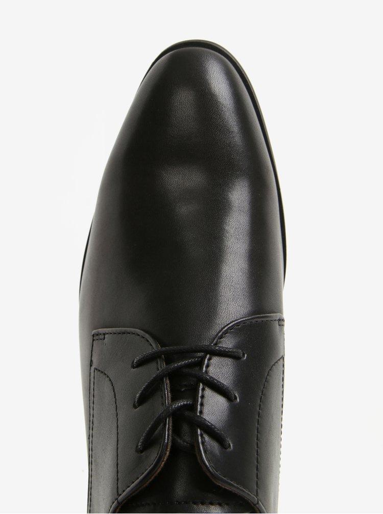 Pantofi negri din piele naturala pentru barbati - ALDO Lauriano