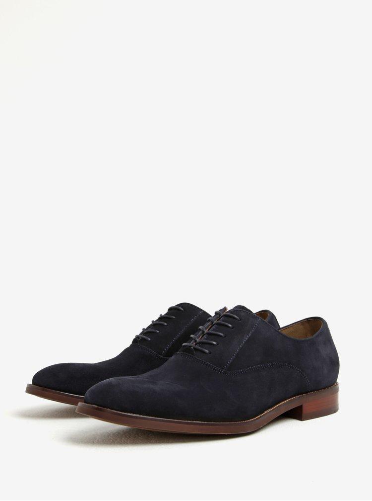 Pantofi bleumarin din piele intoarsa pentru barbati - ALDO Eloie