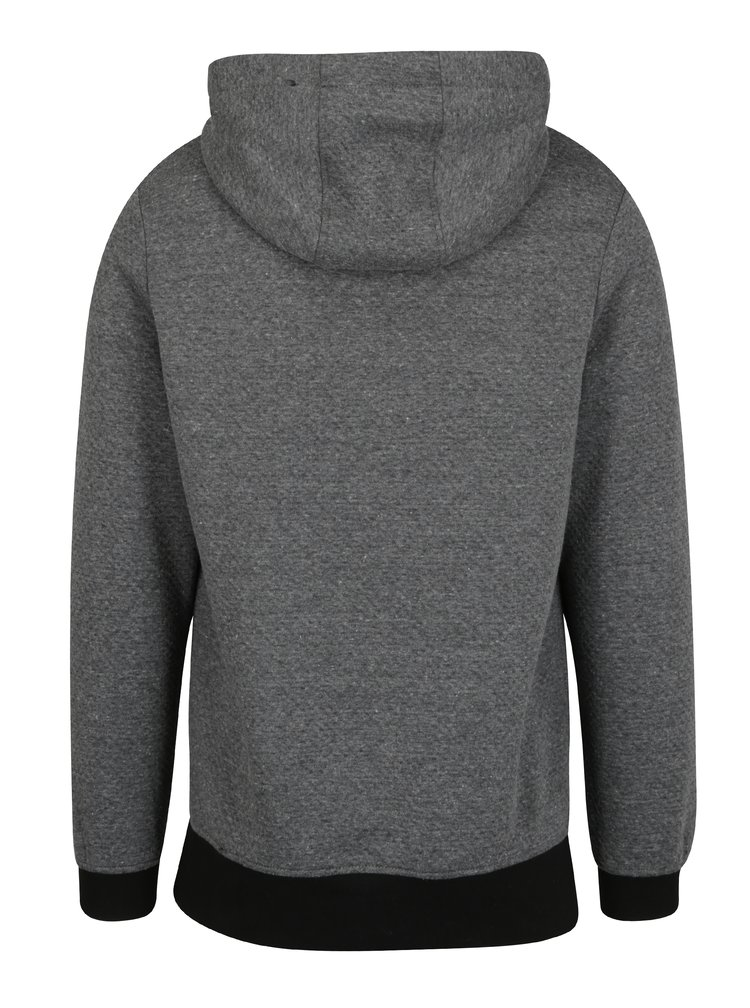 Hanorac gri cu fermoar asimetric - Jack & Jones Kari