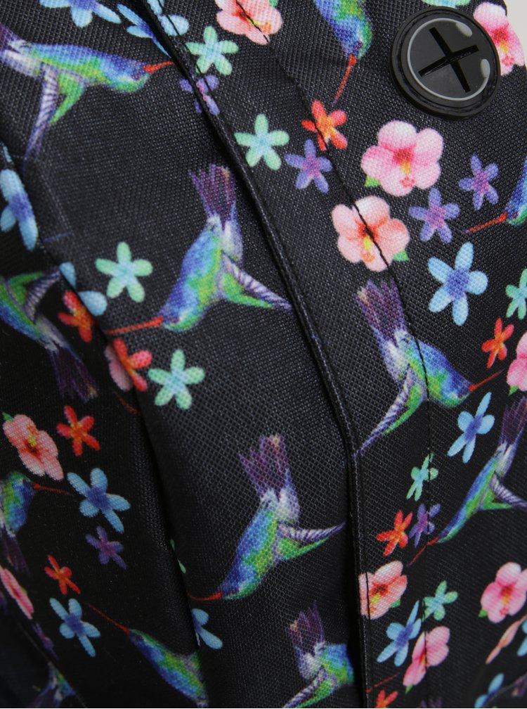 Černý dámský batoh Spiral Humming Bird