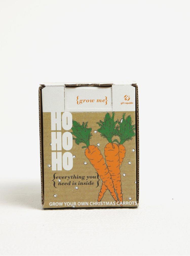 Kit de crescut morcovi - Gift Republic Grow me