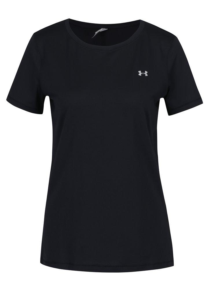 Tricou sport negru pentru femei - Under Armour