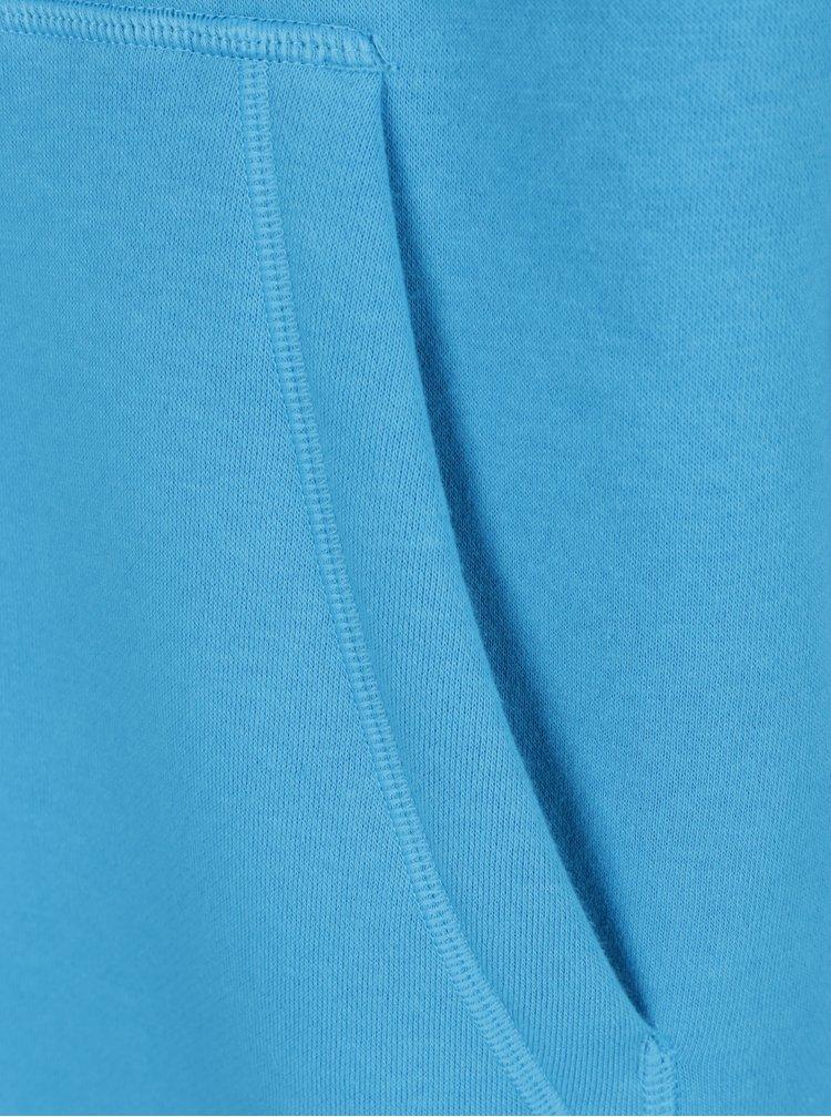 Modrá pánská mikina s kapucí Under Armour Hoodie
