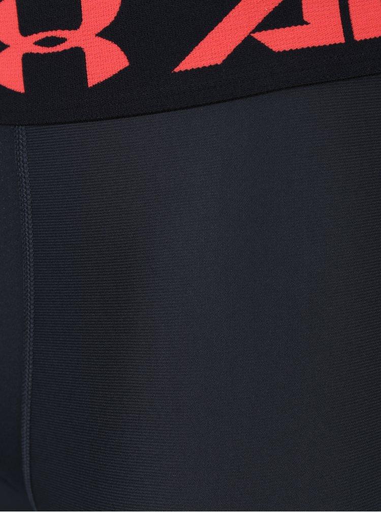 Červeno-černé pánské funkční legíny Under Armour 2.0 Legging